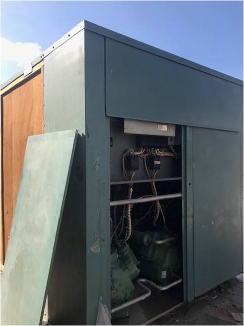 CARRIER  70 TR AIR COOLED Chiller System – 30 GB-070